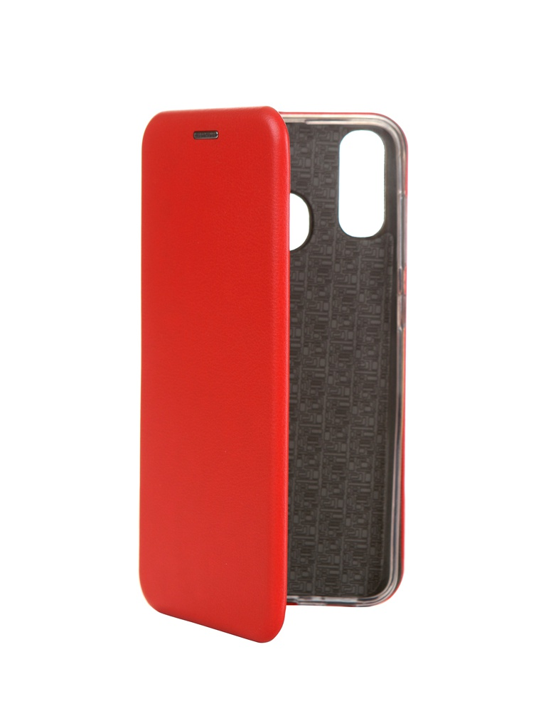 Чехол Innovation для Samsung Galaxy A20 / A30 Book Silicone Magnetic Red 15488