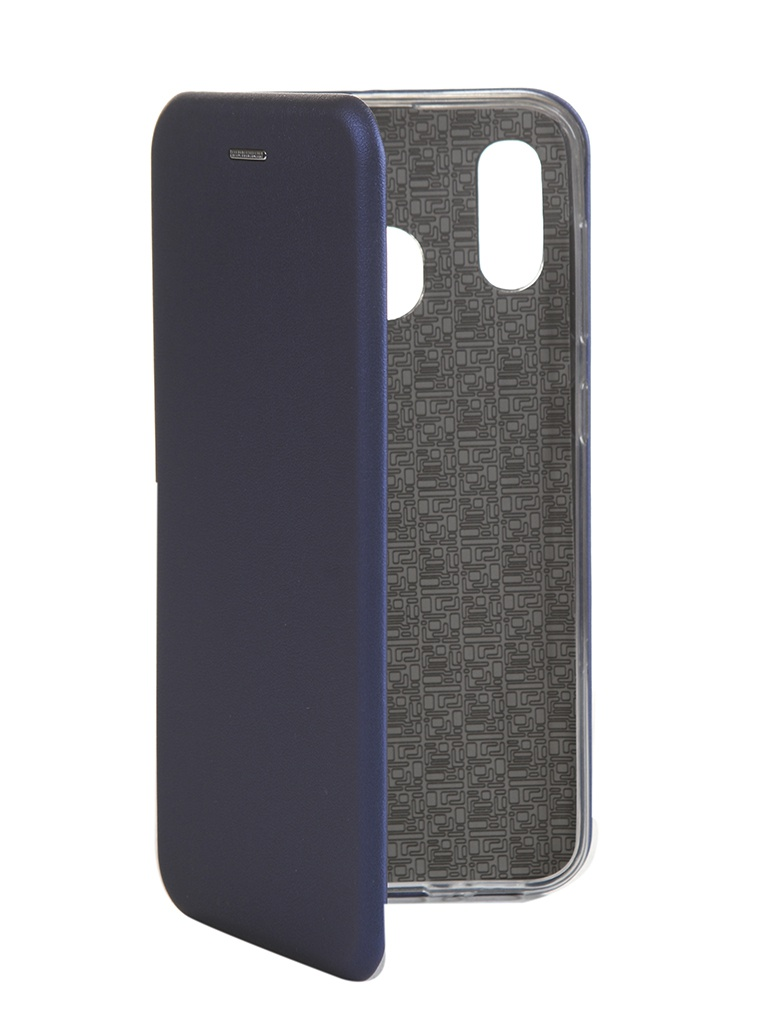 Чехол Innovation для Samsung Galaxy A20 / A30 Book Silicone Magnetic Blue 15484