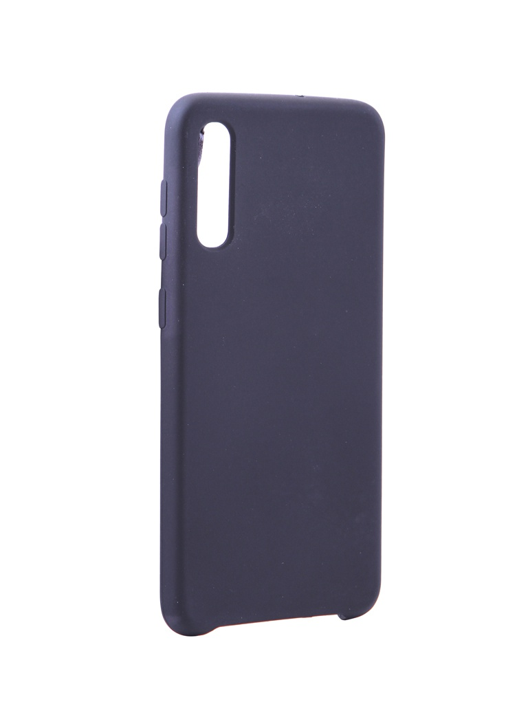 Чехол Innovation для Samsung Galaxy A40 Silicone Cover Black 15282