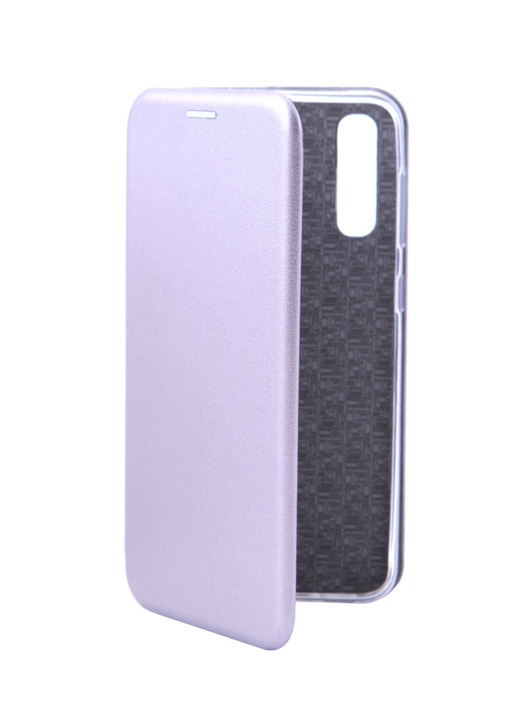 Аксессуар Чехол Innovation для Samsung Galaxy A50 Book Silicone Magnetic Silver 15292 цена и фото