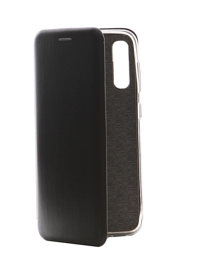 Чехол Innovation для Samsung Galaxy A50 Book Silicone Magnetic Black 15288