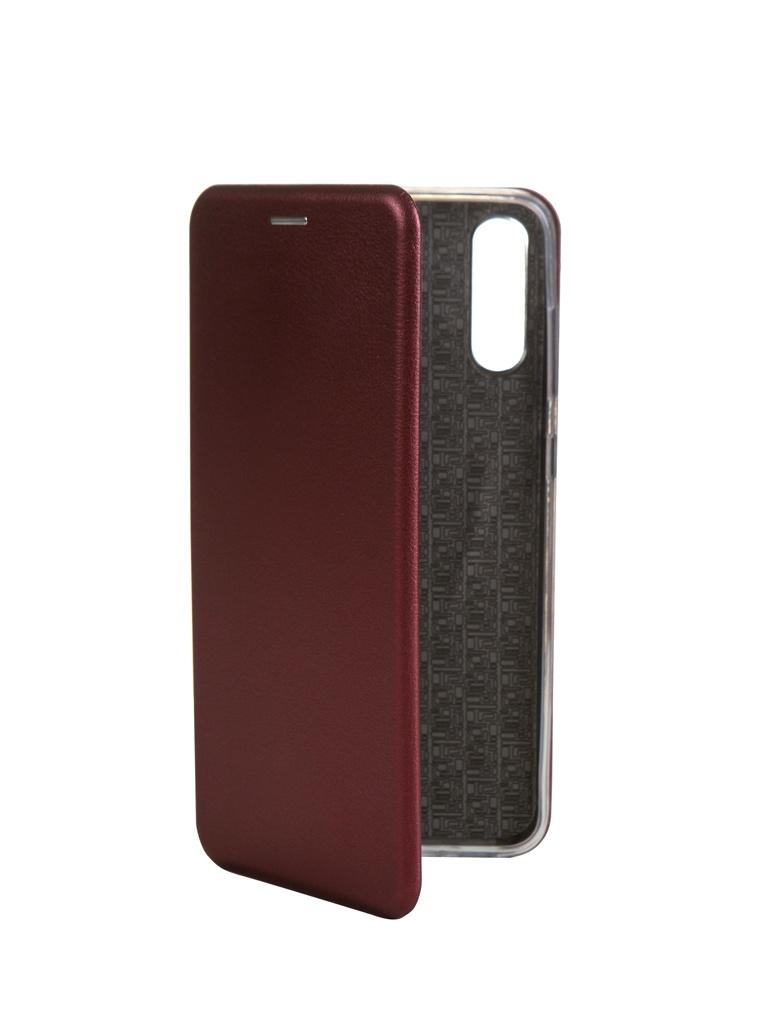 Zakazat.ru: Чехол Innovation для Samsung Galaxy A70 Book Silicone Magnetic Bordo 15482