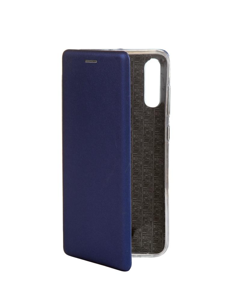 Zakazat.ru: Чехол Innovation для Samsung Galaxy A70 Book Silicone Magnetic Blue 15476