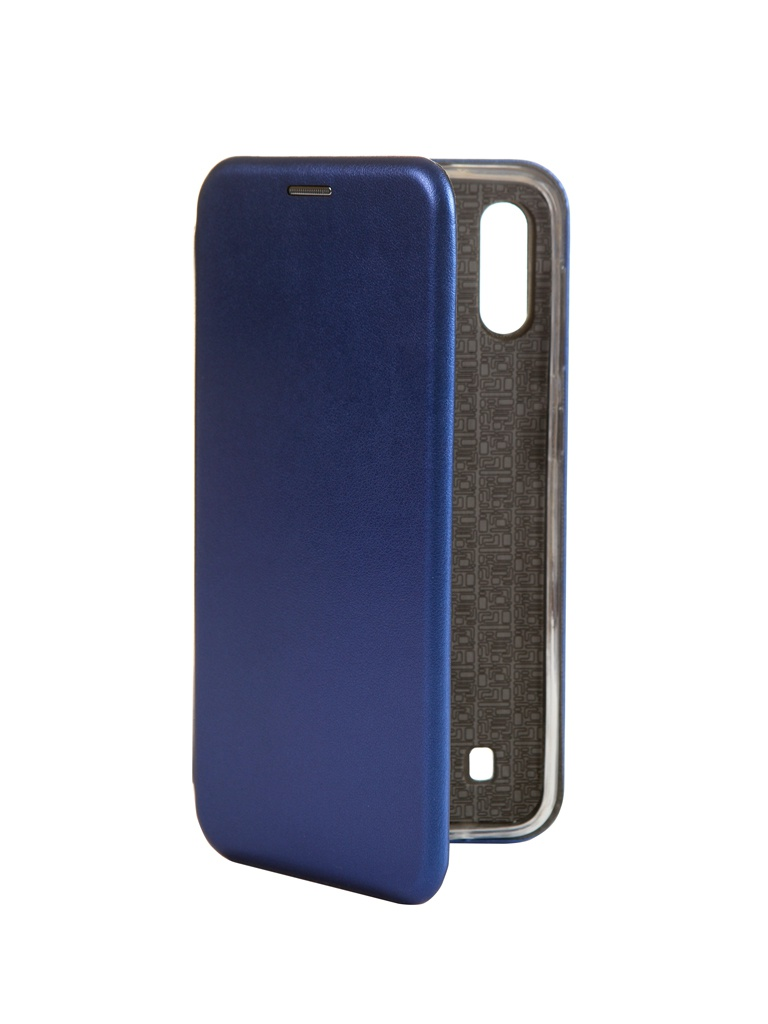 Чехол Innovation для Samsung Galaxy M10 Book Silicone Magnetic Blue 15518