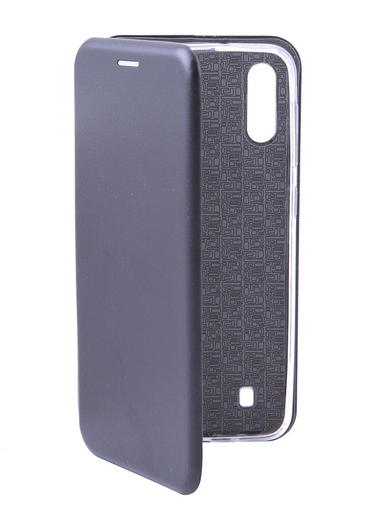 Аксессуар Чехол Innovation для Samsung Galaxy M10 Book Silicone Magnetic Black 15521 аксессуар чехол для samsung galaxy note 8 innovation book silicone magnetic black 13430