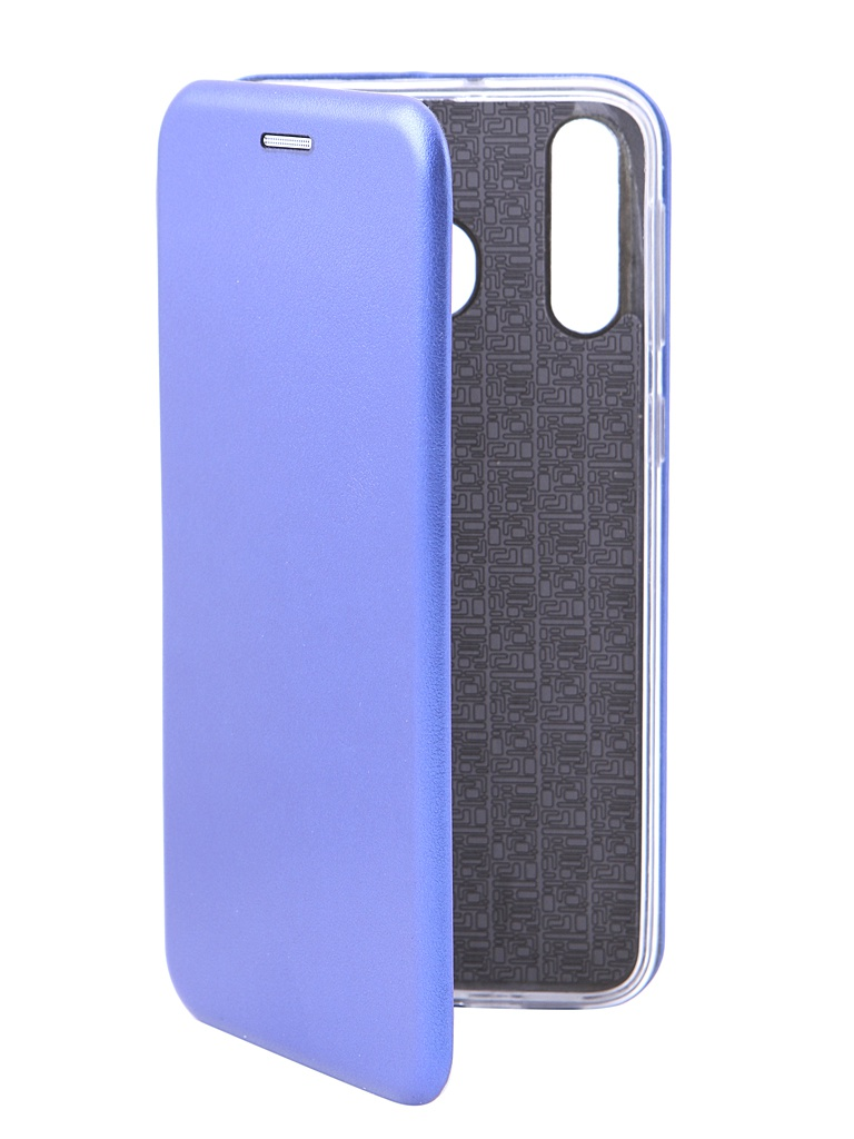Чехол Innovation для Samsung Galaxy M30 Book Silicone Magnetic Blue 15502