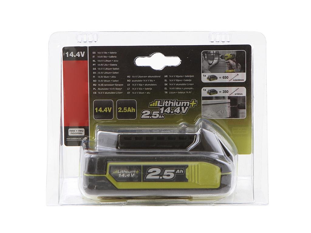 Аккумулятор Ryobi RB14 L25 14.4V 2.5Ah 5133002313 аккумулятор ryobi rb18l50 3002433