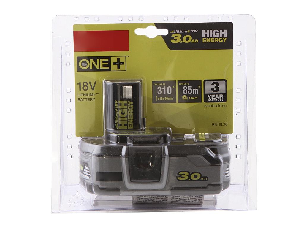 Аккумулятор Ryobi One+ Li-Ion RB18L30 5133002867