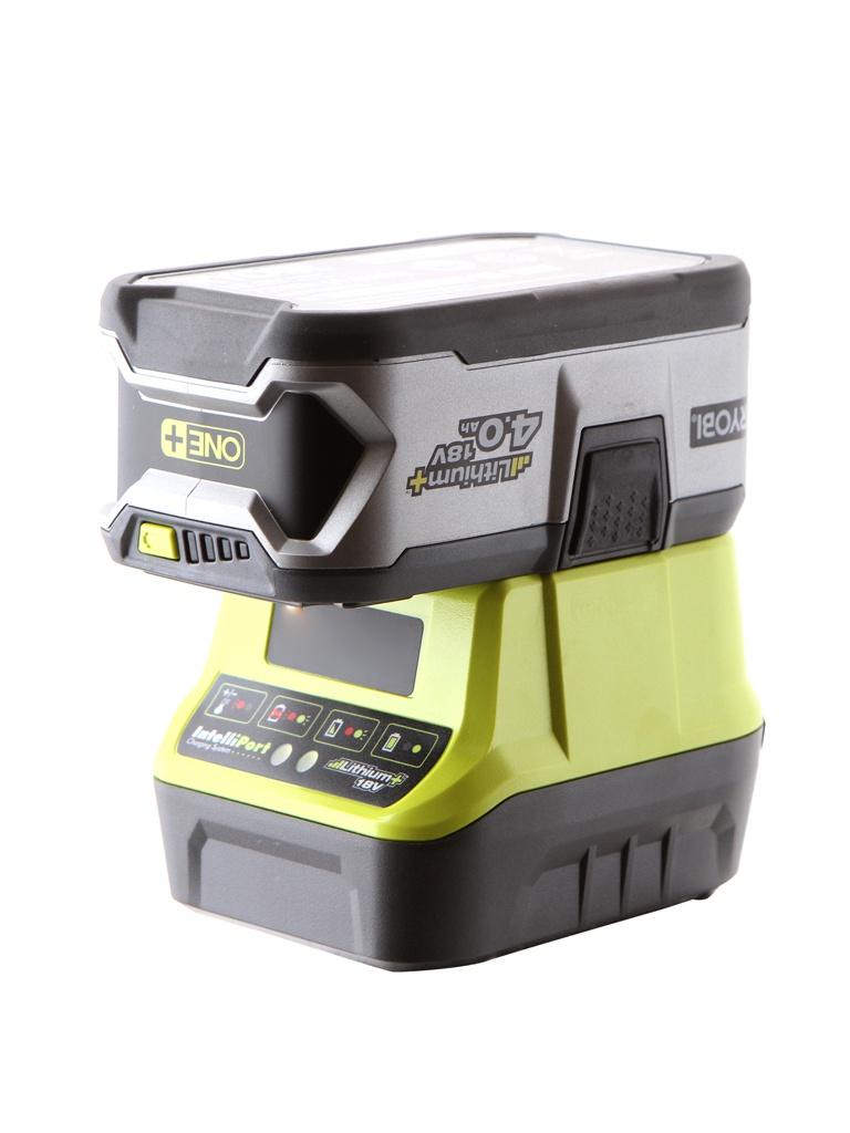 Комплект Ryobi One+ 1x4.0Ah Lithium + зарядное устройство RC18120-140 5133003360
