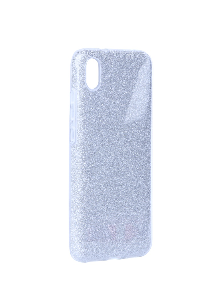 Аксессуар Чехол Neypo для Xiaomi Redmi 7А Brilliant Silicone Silver Crystals NBRL13247 чехол hard case для xiaomi redmi 7а red