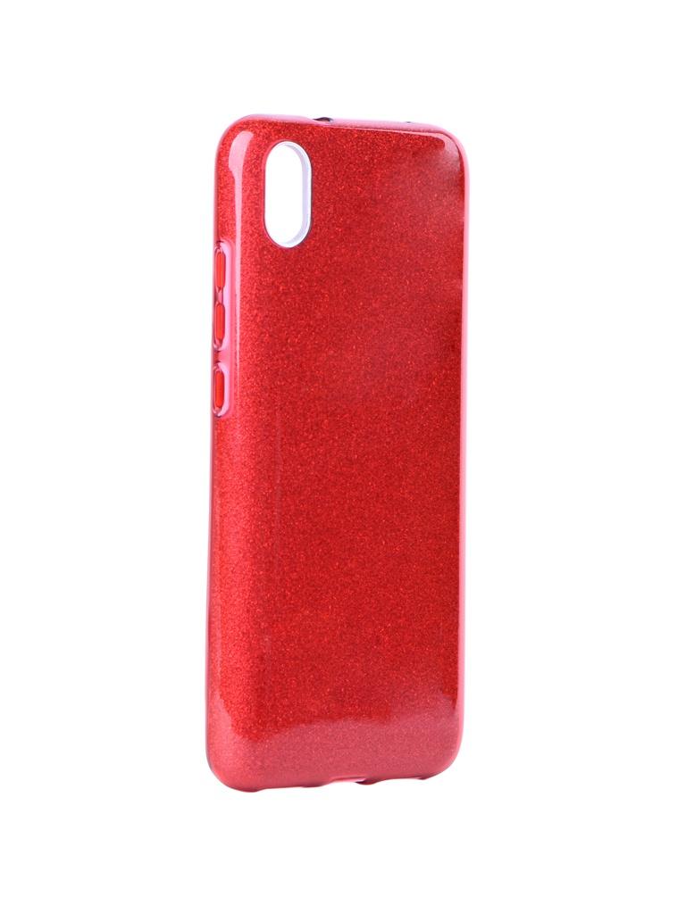 Аксессуар Чехол Neypo для Xiaomi Redmi 7А Brilliant Silicone Red Crystals NBRL13245
