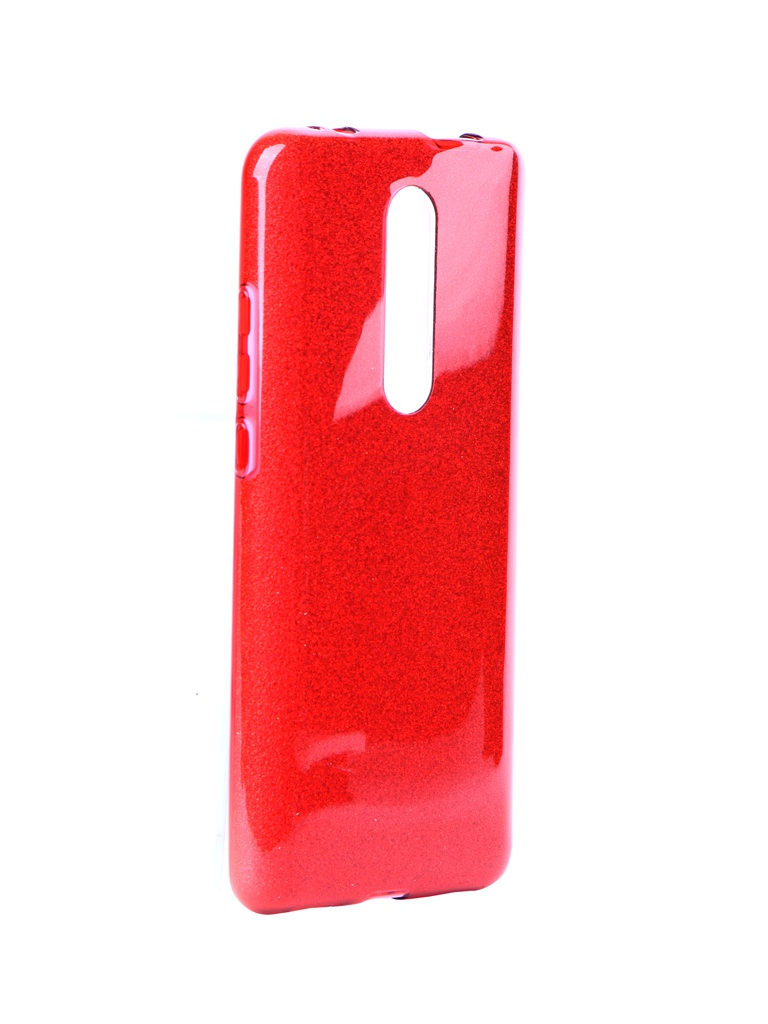 Чехол Neypo для Xiaomi Mi 9T Brilliant Silicone Red Crystals NBRL13237
