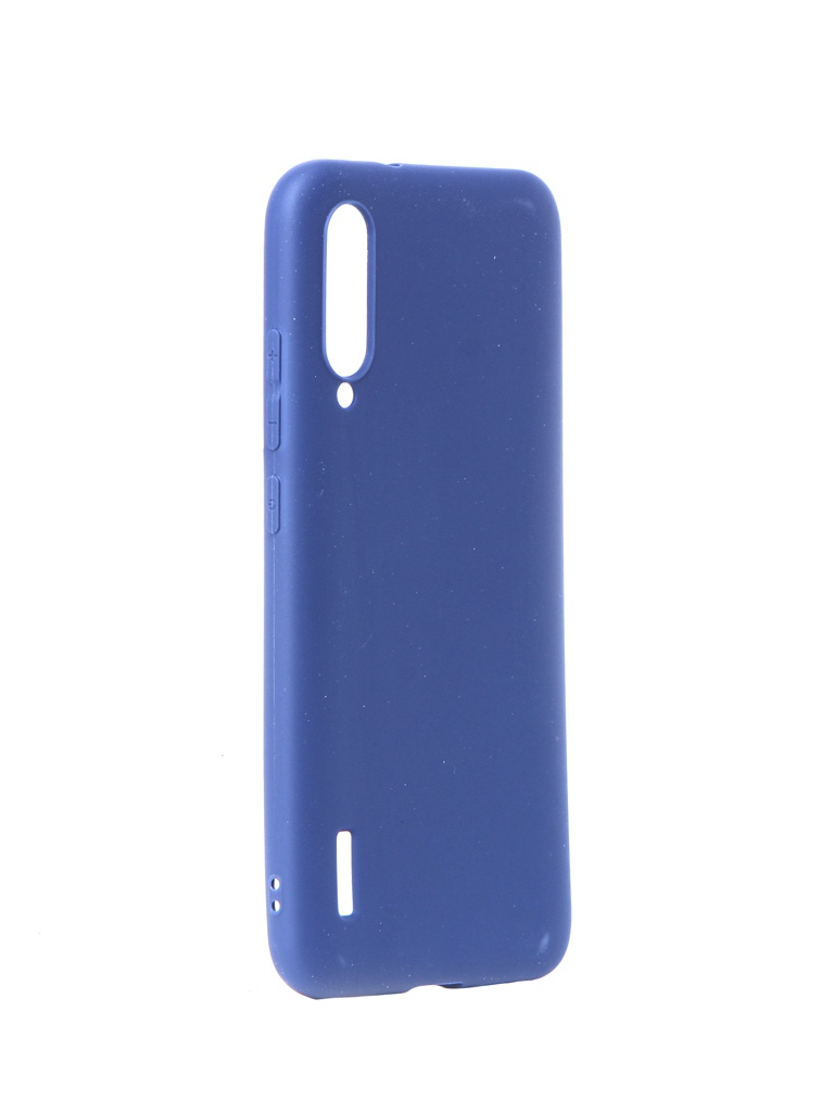 Чехол Neypo для Xiaomi Mi A3 CC9E Soft Matte Silicone Blue NST15099