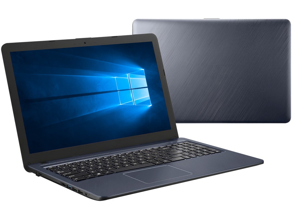 Ноутбук ASUS X543UB-GQ1156T 90NB0IM7-M16420 (Intel Pentium 4417U 2.3 GHz/4096Mb/500Gb/nVidia GeForce MX110 2048Mb/Wi-Fi/Cam/15.6/1366x768/Windows 10 64-bit)