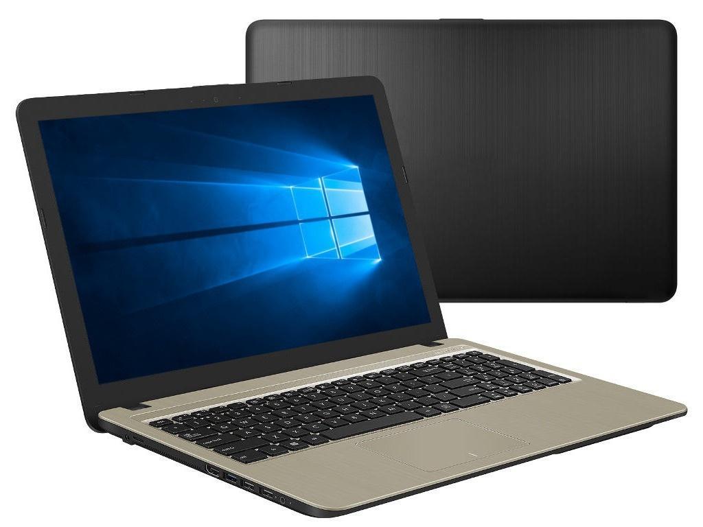 Ноутбук ASUS X540BA-DM317T 90NB0IY1-M04280 (AMD A6-9225 2.6GHz/4096Mb/256Gb SSD/AMD Radeon R4/Wi-Fi/Cam/15.6/1366x768/Windows 10 64-bit)