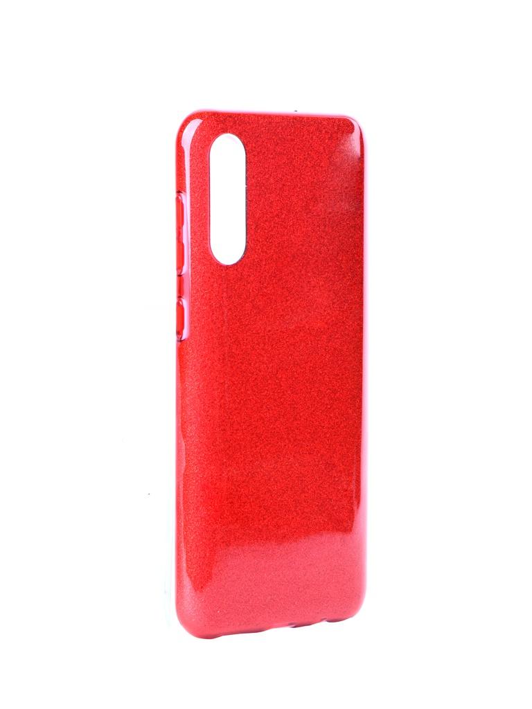 Чехол Neypo для Samsung Galaxy A50 2019 Brilliant Silicone Red Crystals NBRL11528