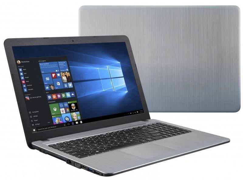 Ноутбук ASUS D541NA-GQ403T 90NB0E83-M14690 (Intel Celeron N3350 1.1 GHz/4096Mb/500Gb/No ODD/Intel HD Graphics/Wi-Fi/Cam/15.6/1366x768/Windows 10 64-bit) ноутбук asus x553sa xx019d 90nb0ac2 m02920 intel celeron n3150 1 6 ghz 4096mb 500gb no odd intel hd graphics wi fi bluetooth cam 15 6 1366x768 dos