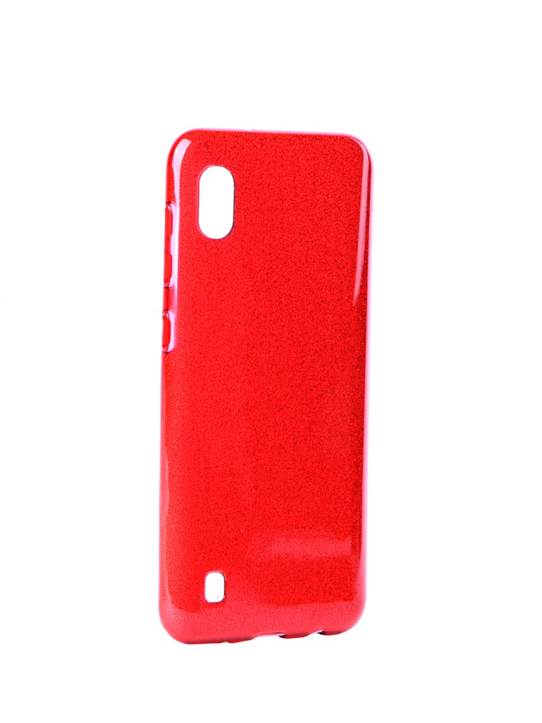 Чехол Neypo для Samsung Galaxy A10 2019 Brilliant Silicone Red Crystals NBRL11919