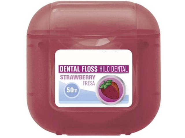 Межзубный флосс Pierrot Strawberry Dental Floss 8411732000435