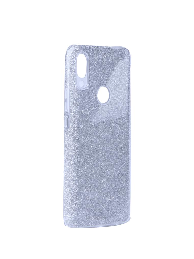 Чехол Neypo для Huawei P Smart Z Brilliant Silicone Silver Crystals NBRL13223