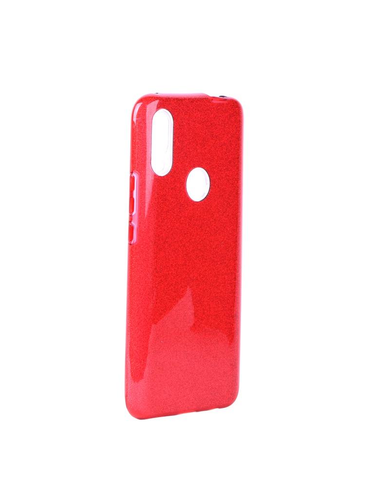 Чехол Neypo для Huawei P Smart Z Brilliant Silicone Red Crystals NBRL13221