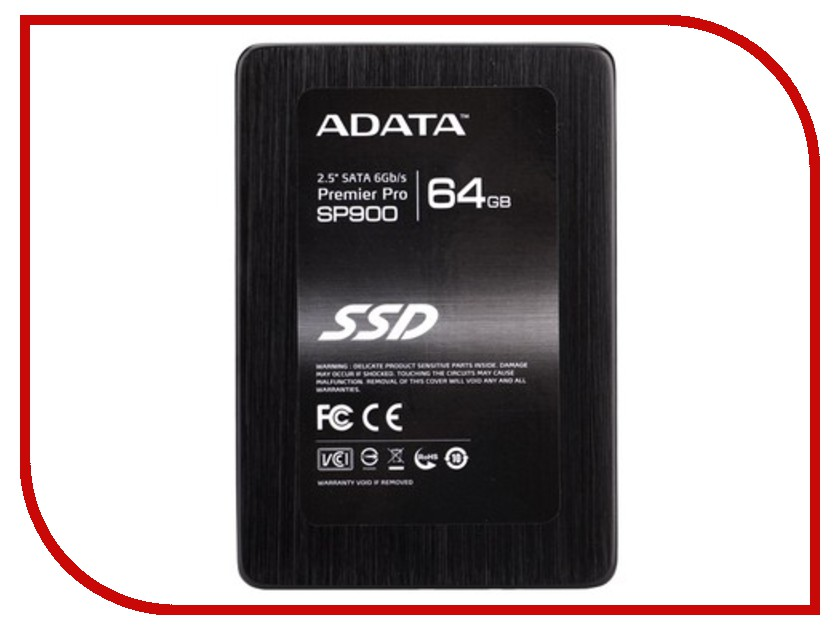 Жесткий диск 64Gb - A-Data Premier Pro SP900 ASP900S3-64GM-C<br>