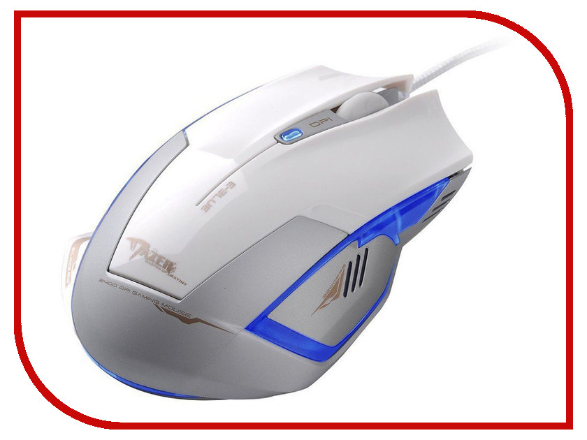 Мышь проводная E-Blue Cobra Mazer Type-R EMS124WH White<br>