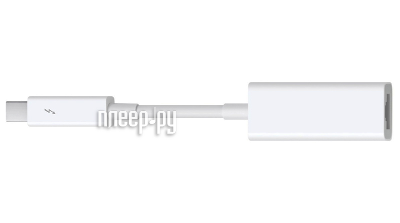 Аксессуар APPLE Thunderbolt to Gigabit Ethernet Adapter MD463ZM