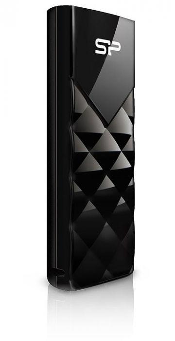 USB Flash Drive 8Gb - Silicon Power Ultima U03 Black SP008GBUF2U03V1K<br>