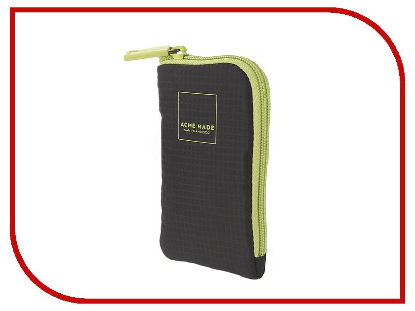 Аксессуар Чехол-сумочка Acme Made Noe Soft Pouch 100 Grey-Lime 80384