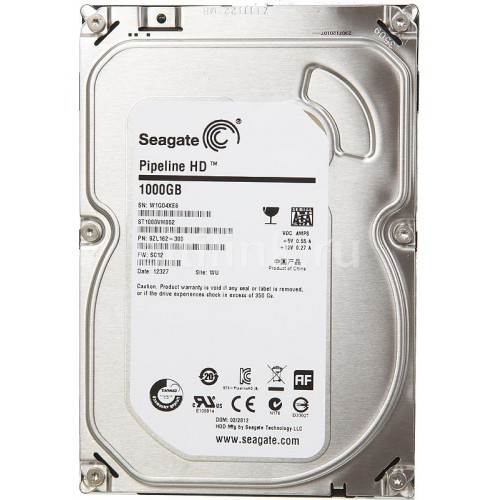 Жесткий диск 1Tb - Seagate ST1000VM002 Pipeline HD