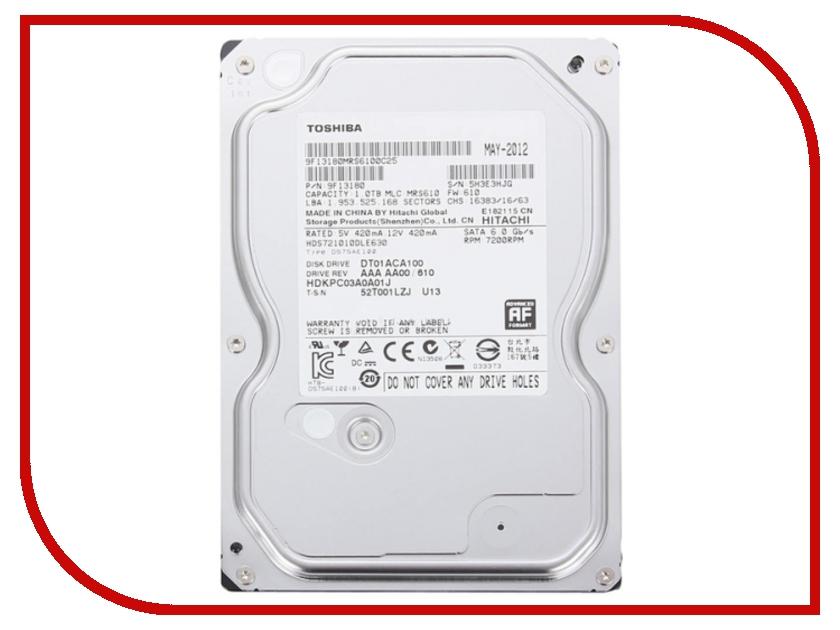 Жесткий диск 1Tb - Toshiba DT01ACA100 toshiba p300 hdwd130uzsva