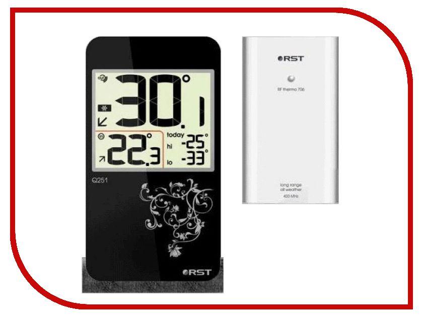 Термометр RST 02251 аксессуар rst 02180 термометр автомобильный