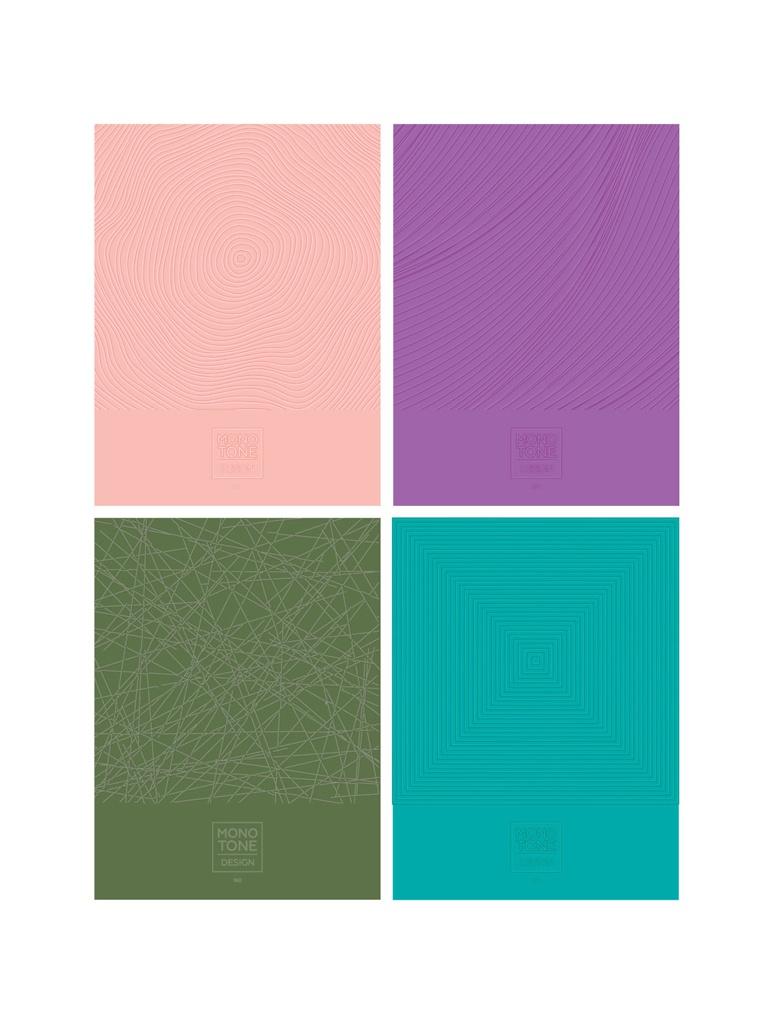 Тетрадь BG Monotone Design А5 160 листов ТТ5к160_лм 7088