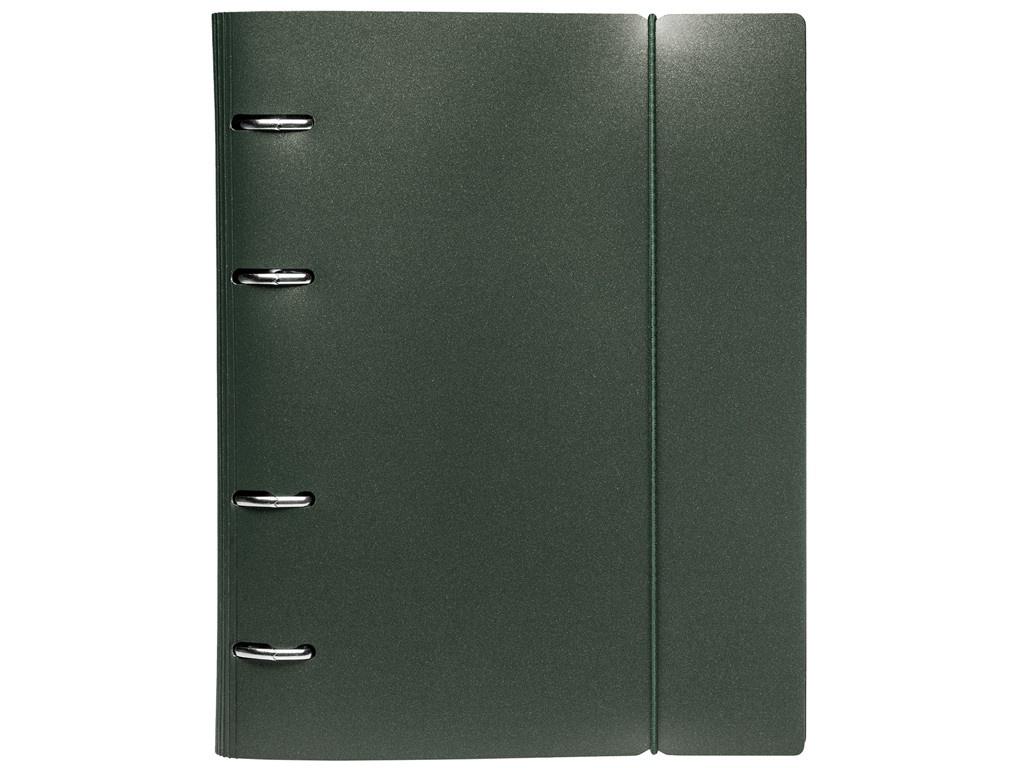 Тетрадь Hatber Metallic А5 120 листов Dark Green 120ТК5Вр1_03412