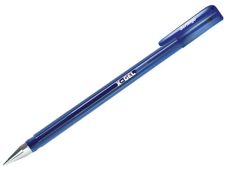 Ручка гелевая Berlingo X-Gel Blue CGp_50121