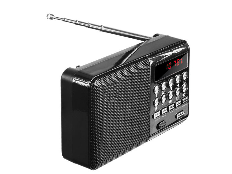 Радиоприемник Perfeo PF_4870 Black