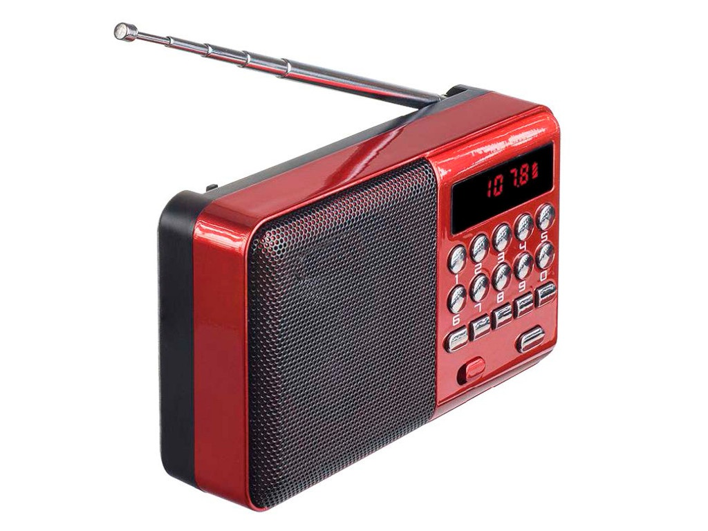 Радиоприемник Perfeo i90-BL PF_4871 Red