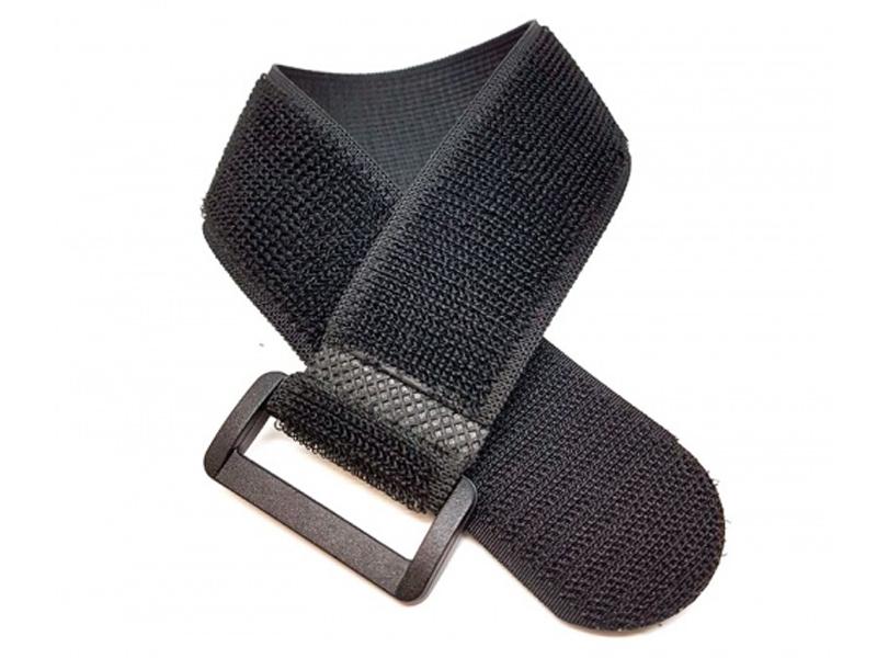 Ремень-липучка эластичный EasyGrip E 300x25mm Black