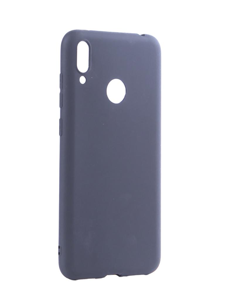 Аксессуар Чехол Pero для Huawei Y7 2019 Soft Touch Blue CC01-Y719BL