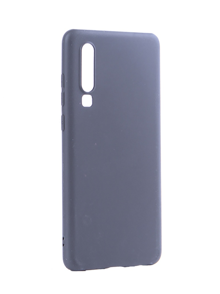 Аксессуар Чехол Pero для Huawei P30 Soft Touch Black CC01-P30B