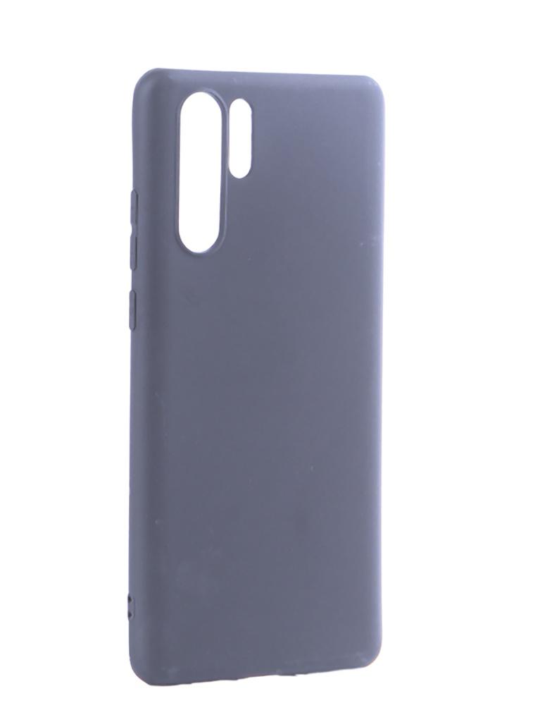 Аксессуар Чехол Pero для Huawei P30 Pro Soft Touch Black CC01-P30PB