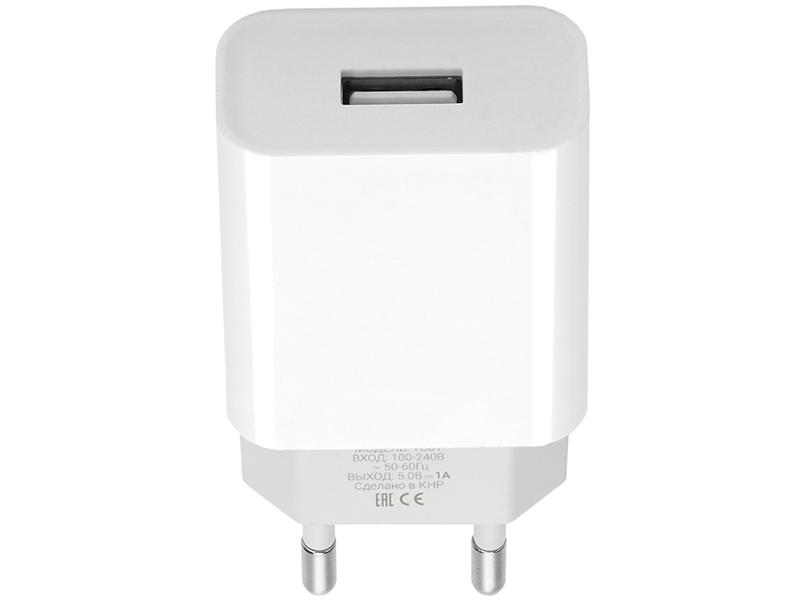 Зарядное устройство Pero TC01 1xUSB 1A White ТС01W1A