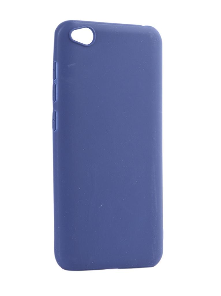 Аксессуар Чехол Pero для Xiaomi Redmi GO Soft Touch Blue CC01-RGOBL