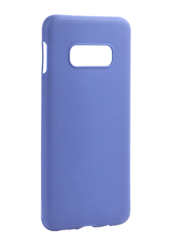 Аксессуар Чехол Pero для Samsung Galaxy S10E Soft Touch Blue CC01-S10EBL