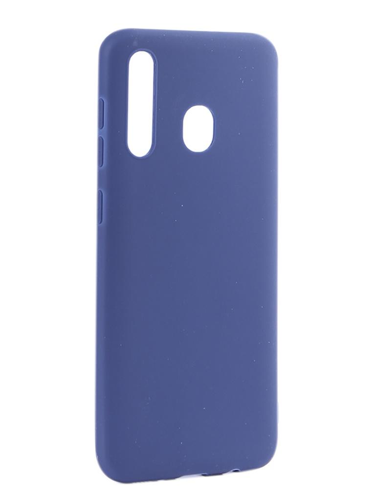 Аксессуар Чехол Pero для Samsung Galaxy A30 Soft Touch Blue СС01-A30BL