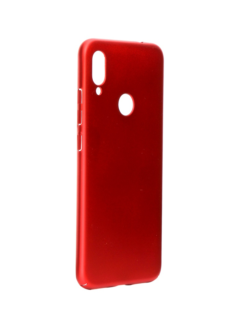 Аксессуар Чехол iBox для Xiaomi Redmi Note 7 Fresh Soft Touch Red УТ000018493