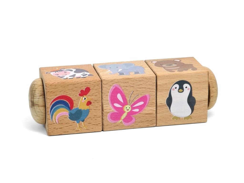Кубики Десятое Королевство Живая природа 02959