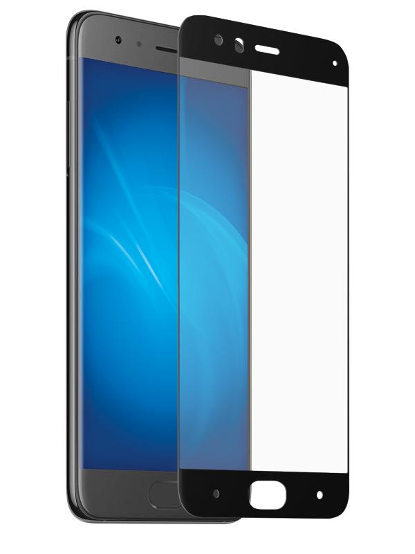 Аксессуар Защитное стекло Ainy для Xiaomi Mi6 Full Screen Cover 3D Hybrid 0.15mm Black Ai-X033A
