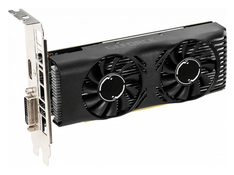 Видеокарта MSI GeForce GTX 1650 1485Mhz PCI-E 3.0 4096Mb 8000Mhz 128 bit HDMI DVI-D HDCP 4GT LP OC